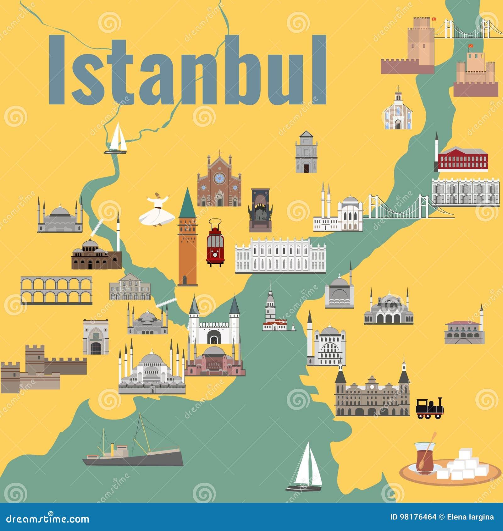 Карта Istanul