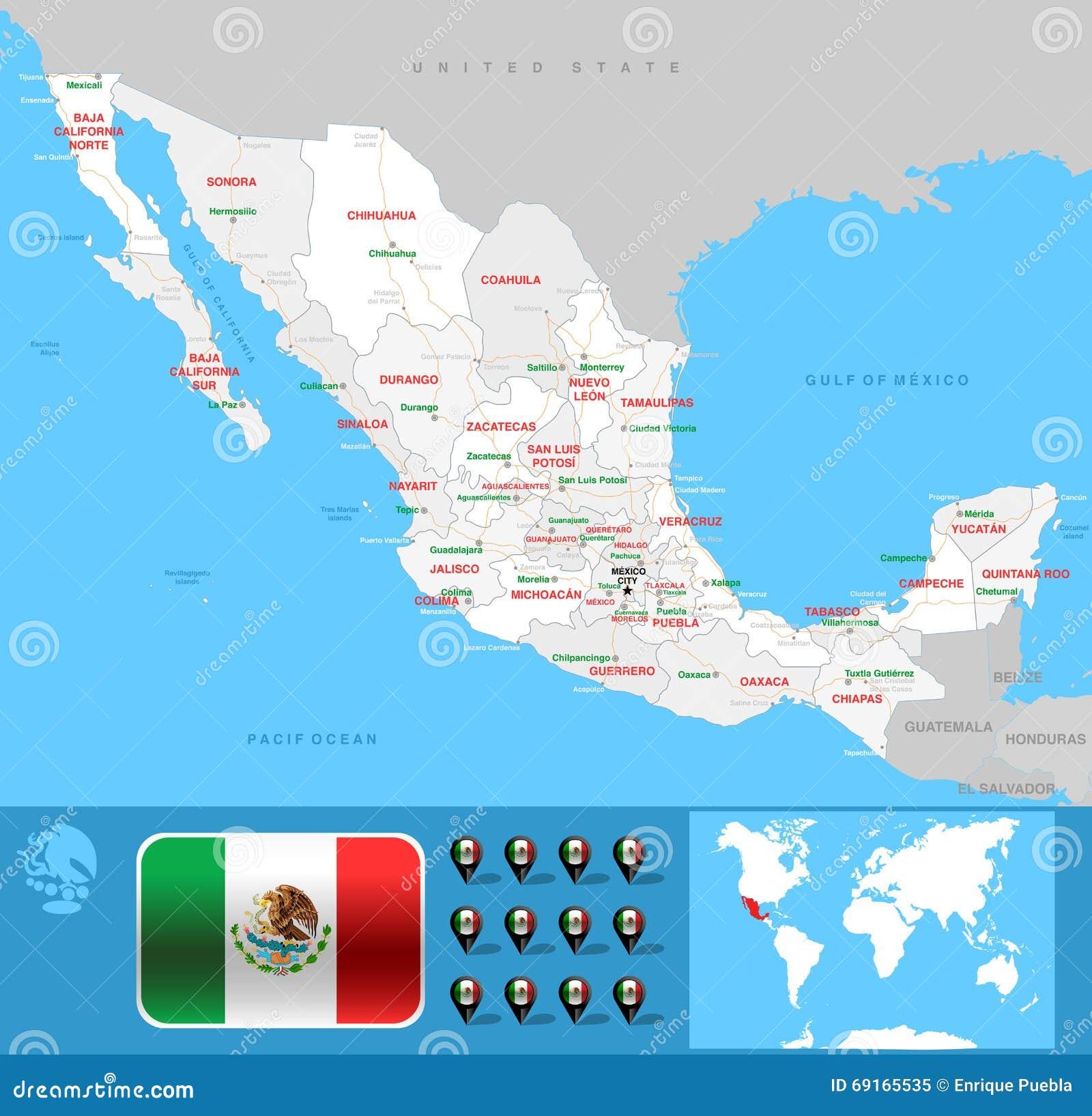 Карта México