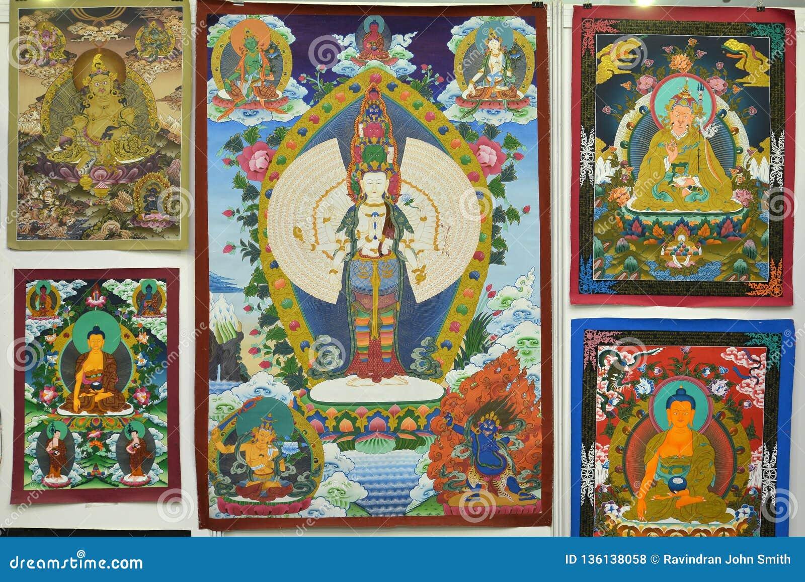 Картина Будды