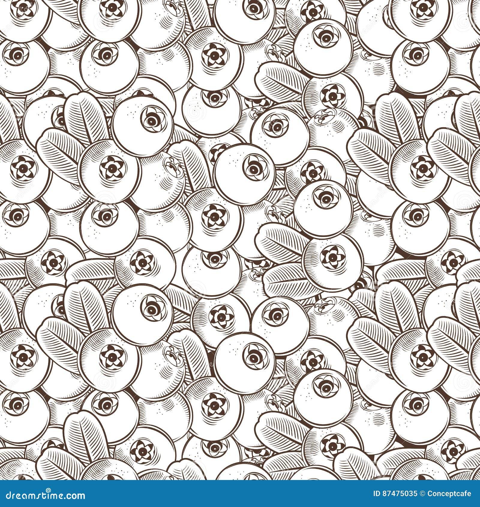 Картина винтажного Cowberry безшовная