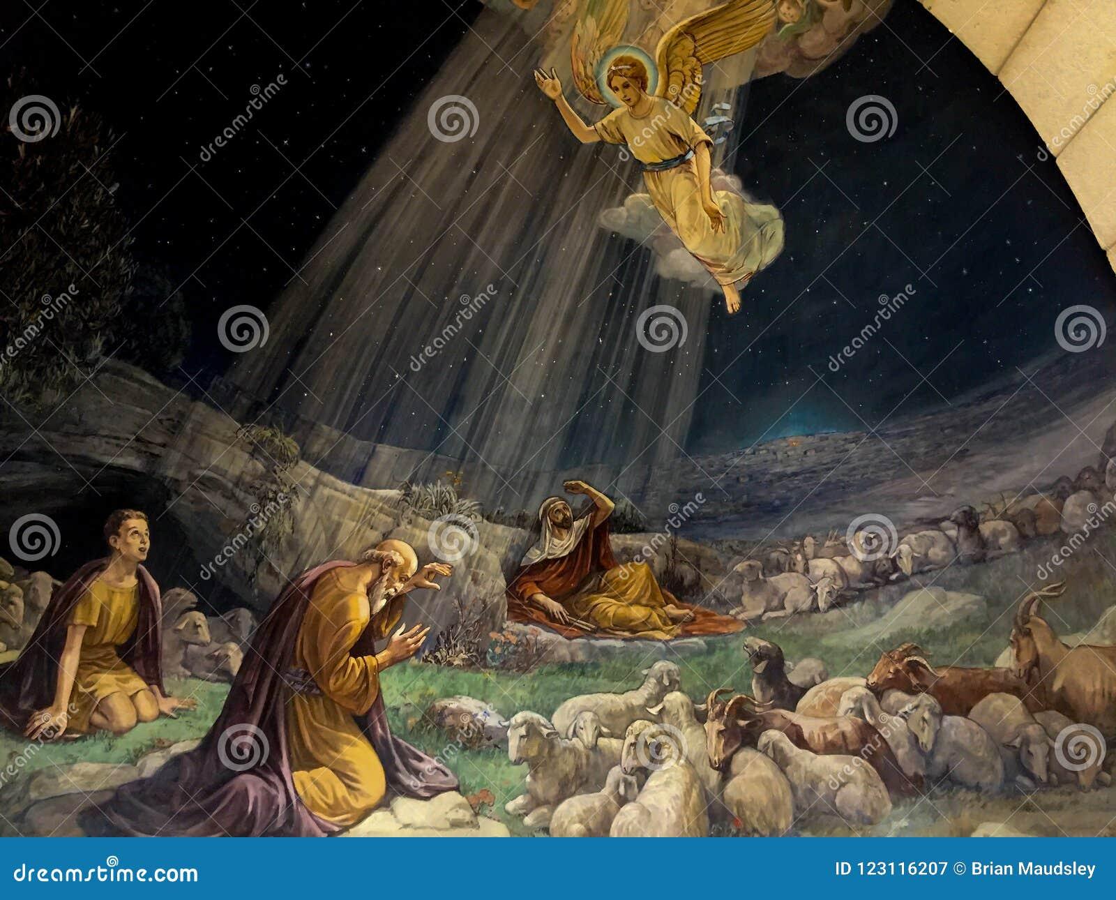 Картина в церков полей чабанов, Вифлееме