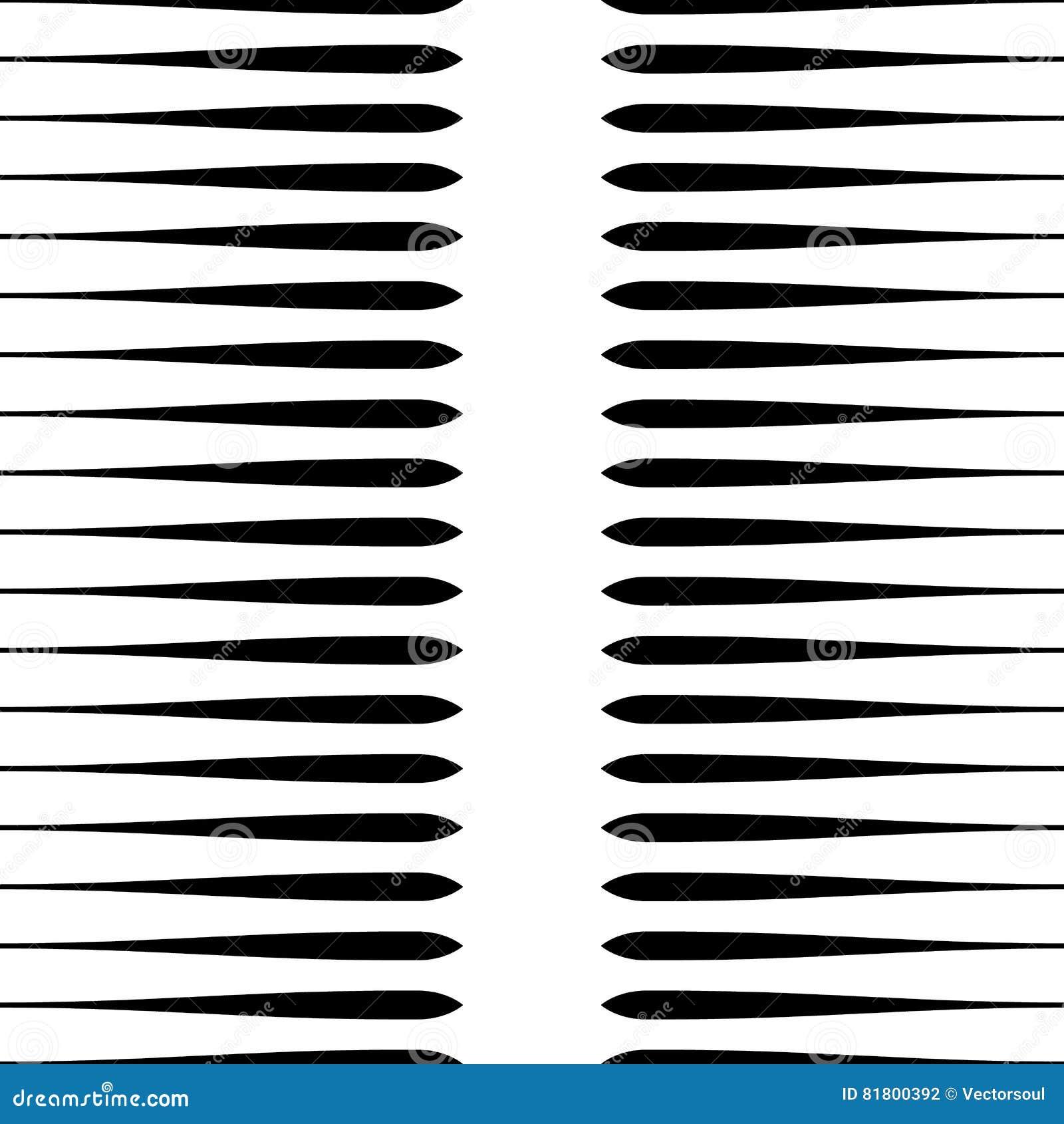 Картина горизонтальных прямых repeatable геометрическая Нашивки, штриховатости