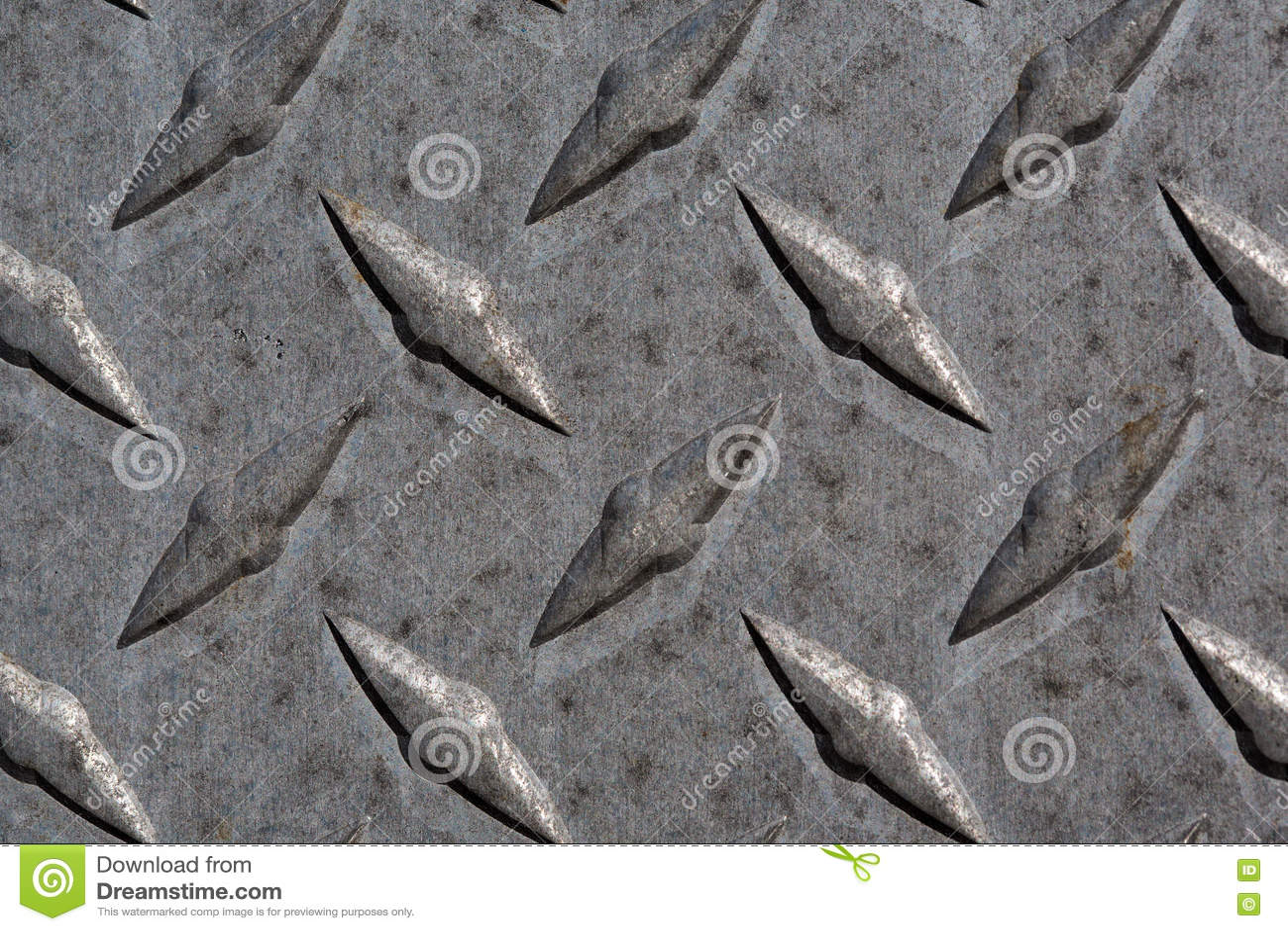 Картина и предпосылка плиты диаманта металла безшовные