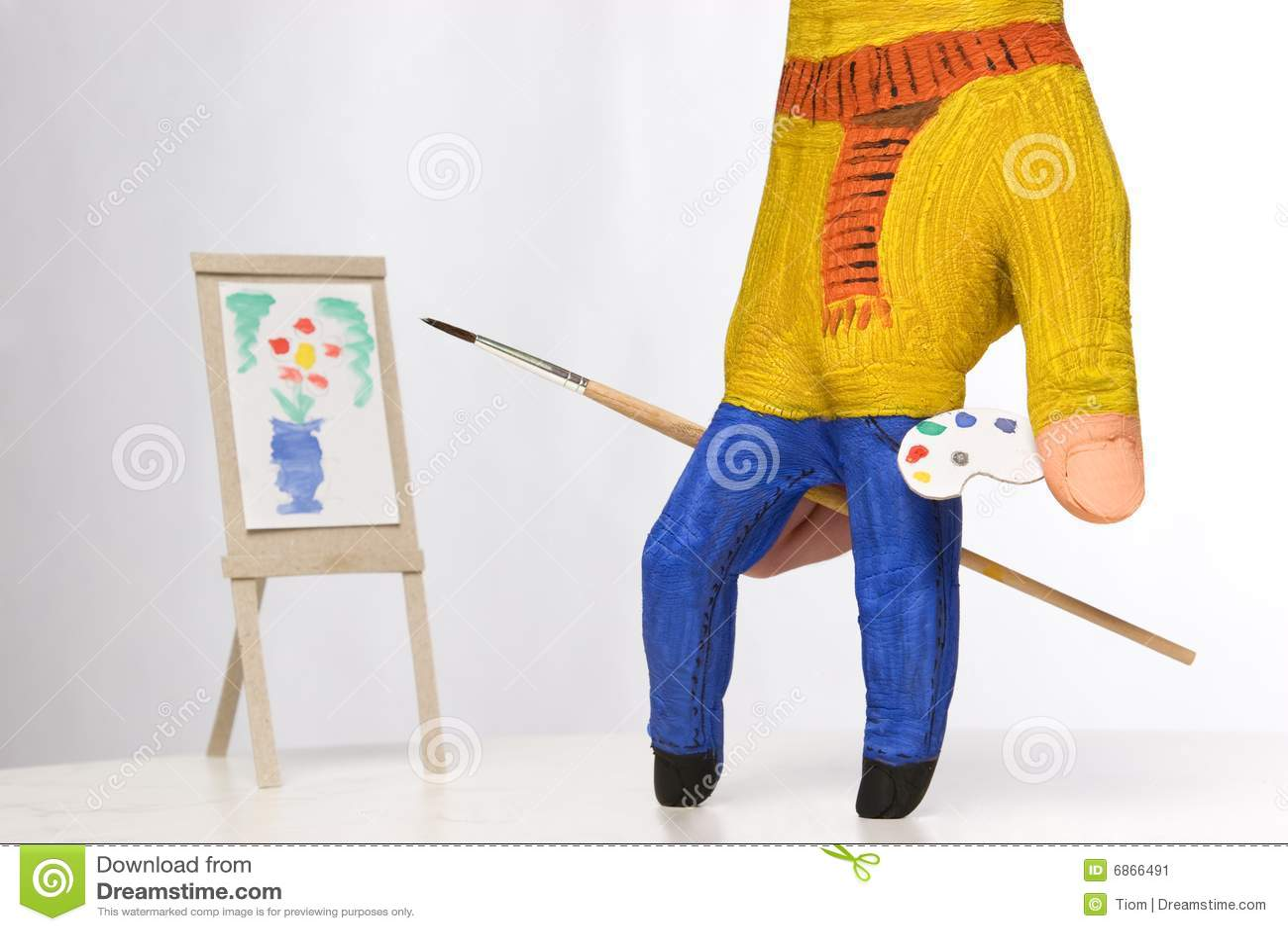 картина колеривщика малая