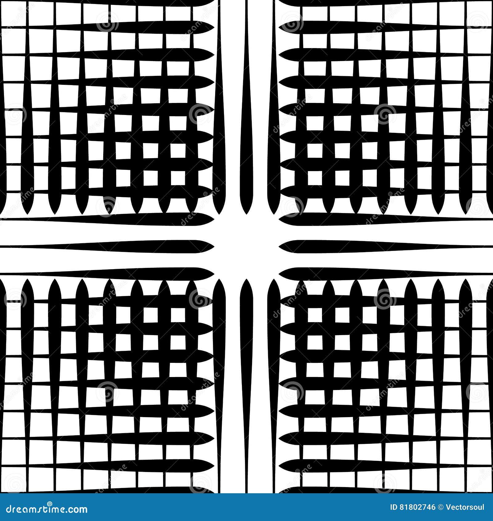 Картина отверстия щетки с линиями сложной формы - плавно repeatable