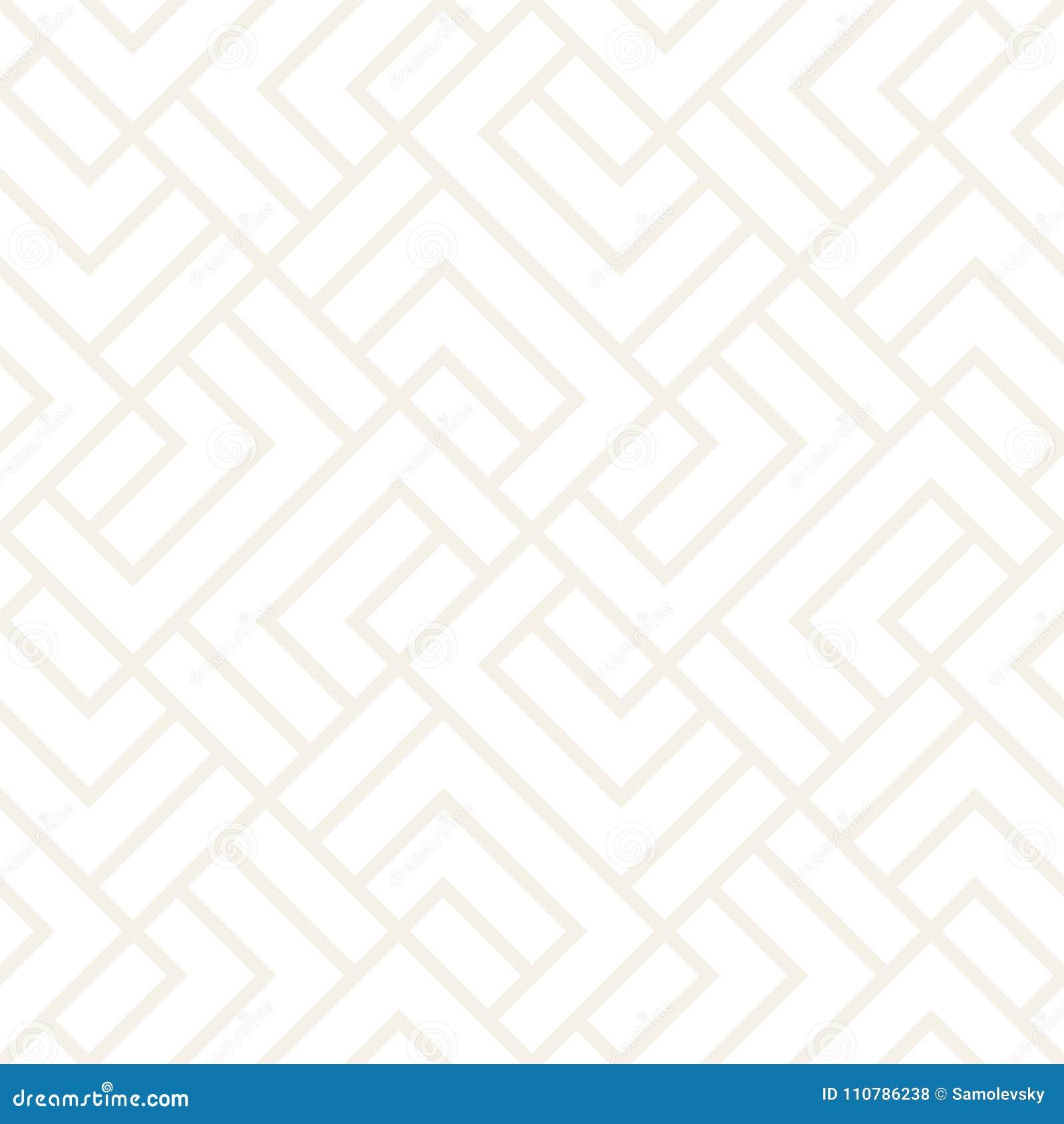 Картина решетки вектора безшовная Современная тонкая текстура с monochrome шпалерой Повторять геометрическую решетку конструкция