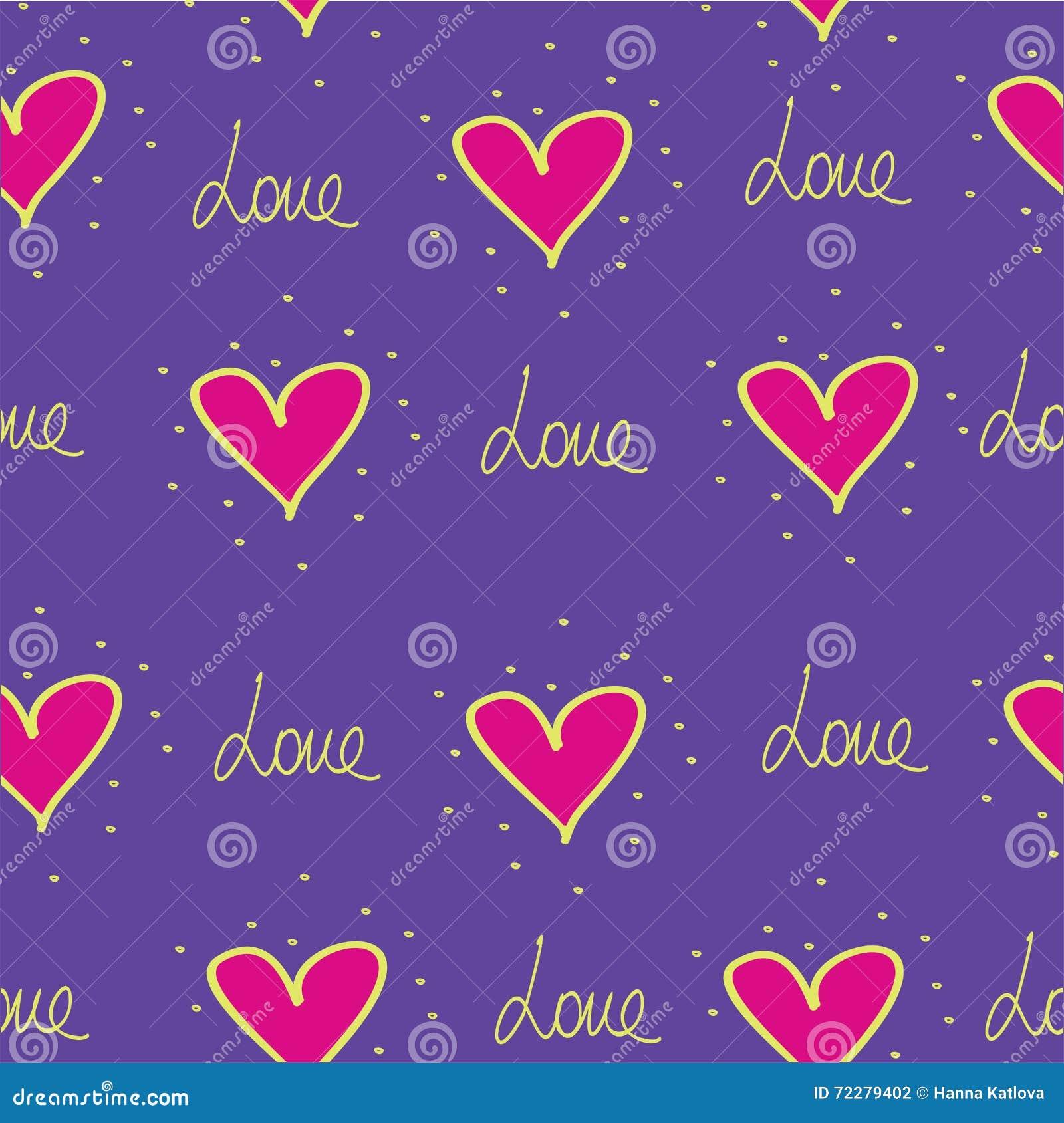 Download Картина сердец Ткань печати Сердце Иллюстрация штока - иллюстрации насчитывающей красивейшее, сторонника: 72279402