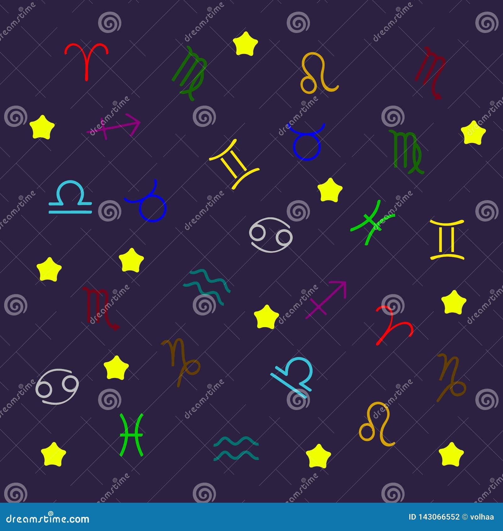 Картина собрания знаков зодиака
