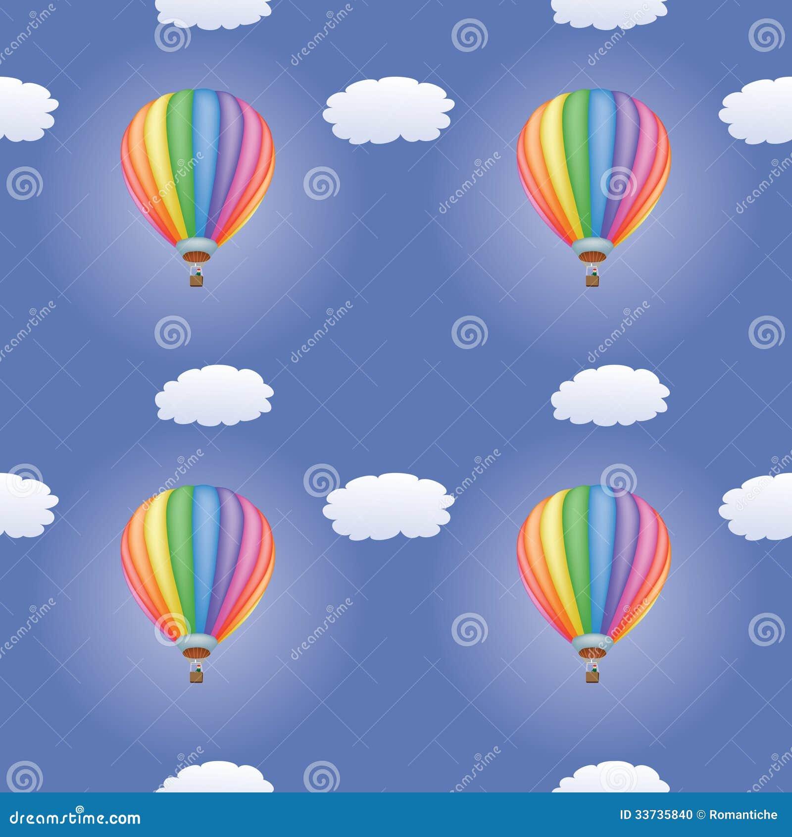 Картина с горячими воздушными шарами