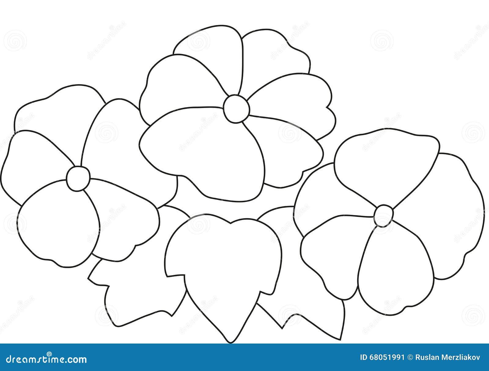 Картина цветка и бабочки