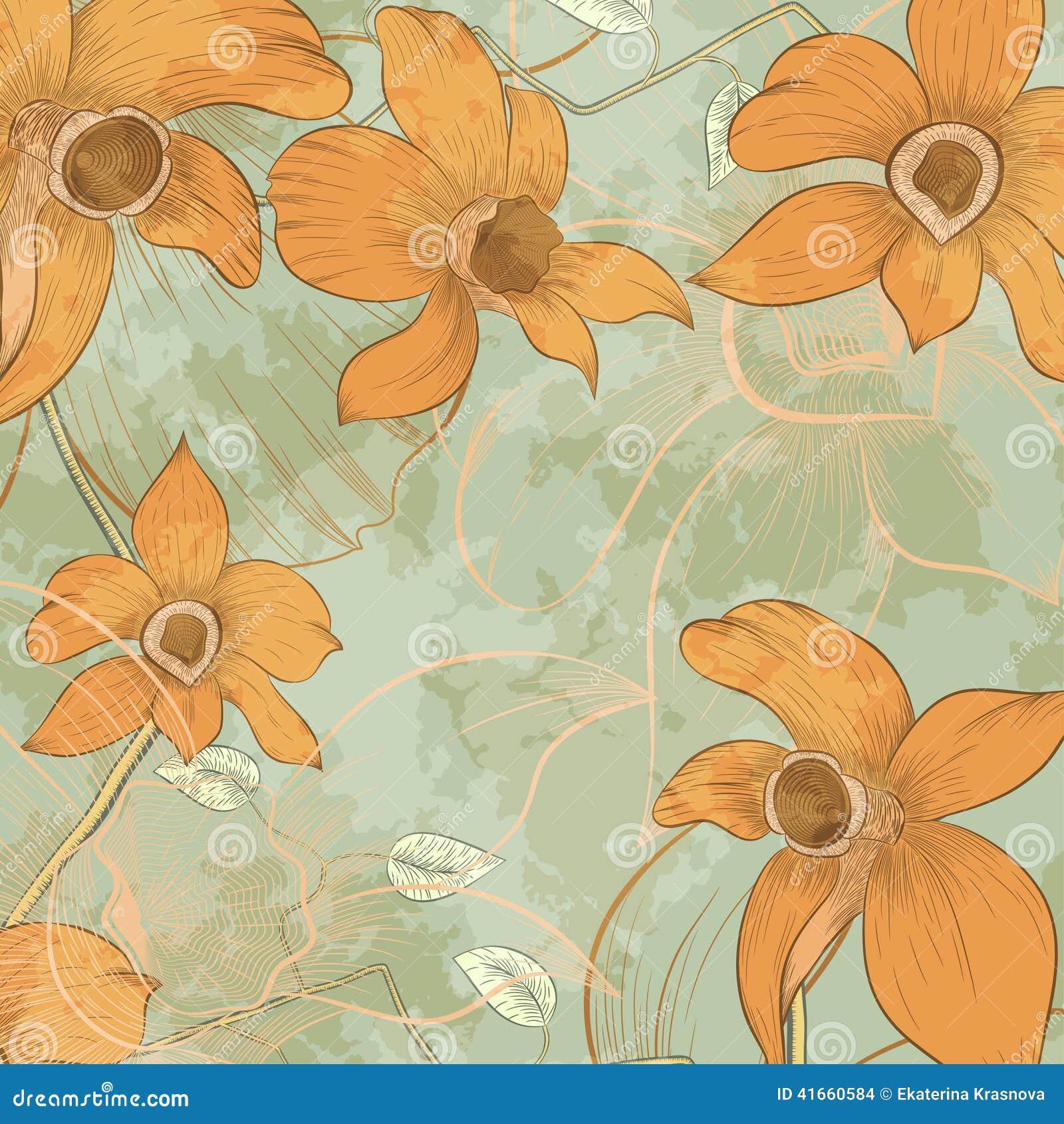 Карточка дизайна цветка
