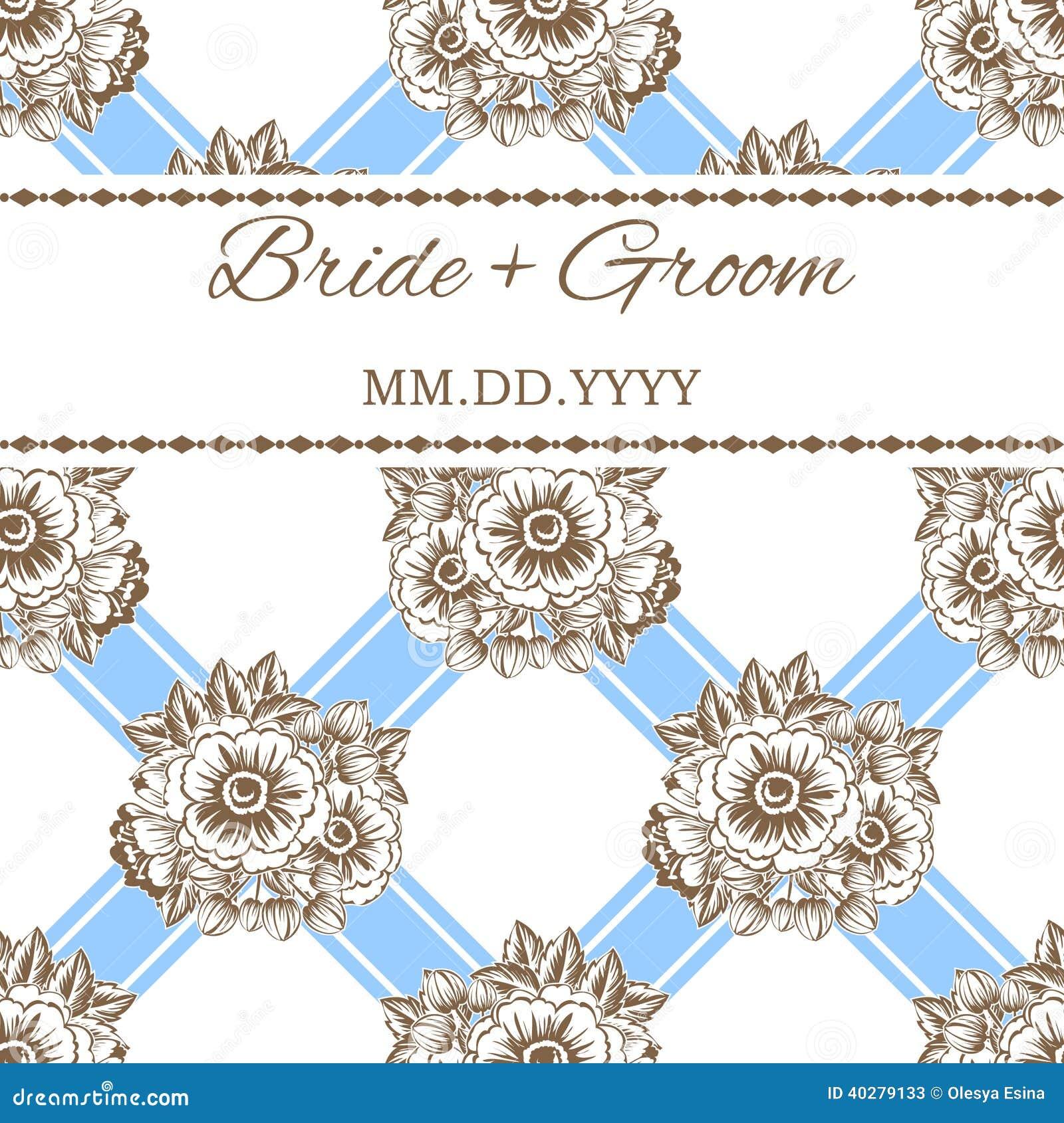 Карточка свадьбы