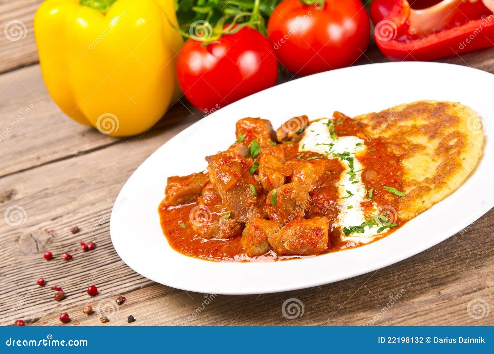 картошка блинчиков гуляша венгерская