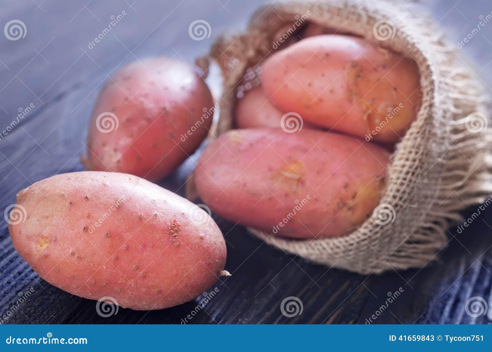 картошка сырцовая