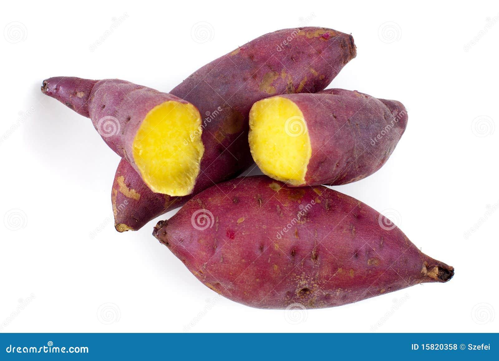 картошки сладостные