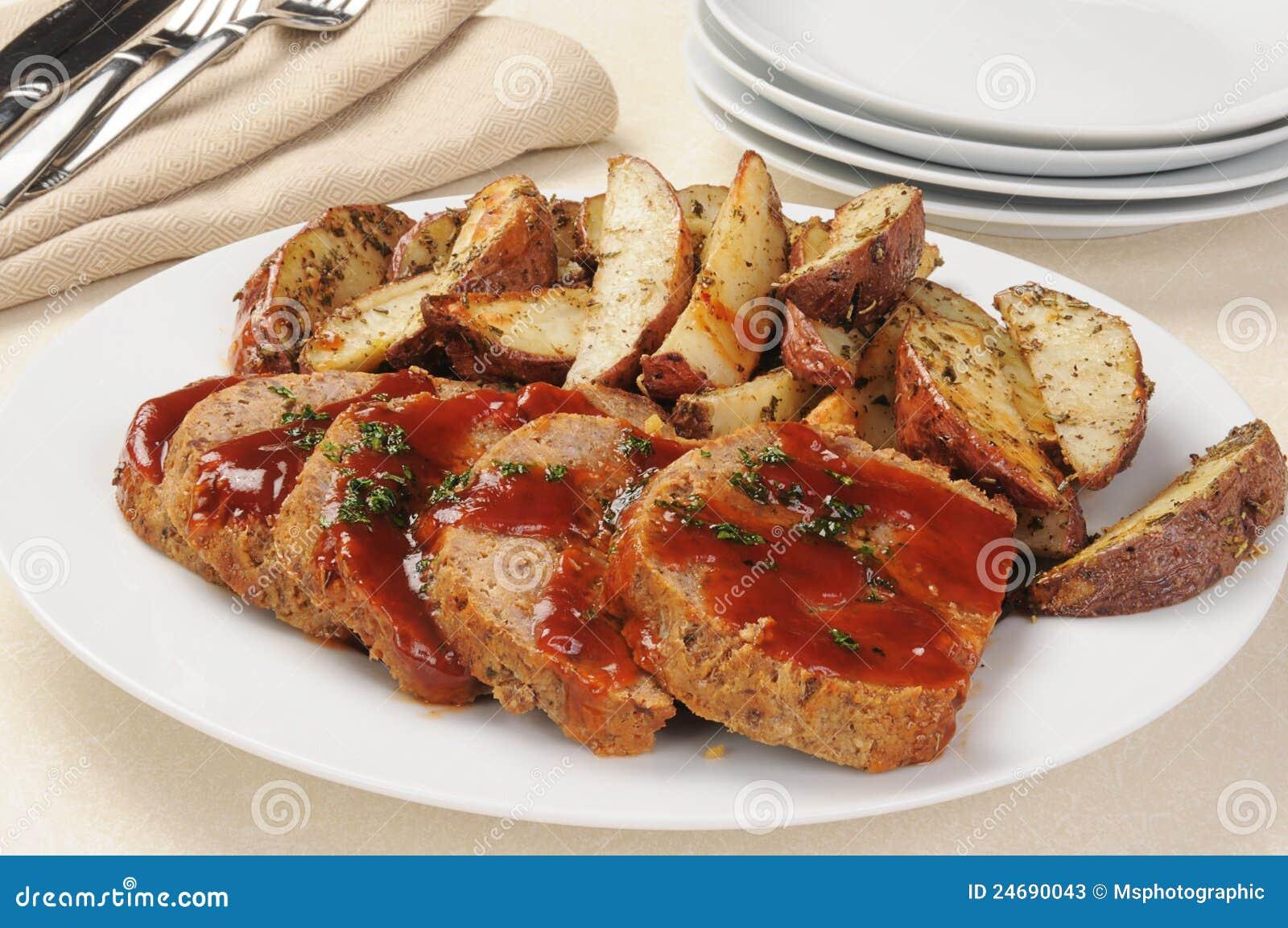 картошки meatloaf