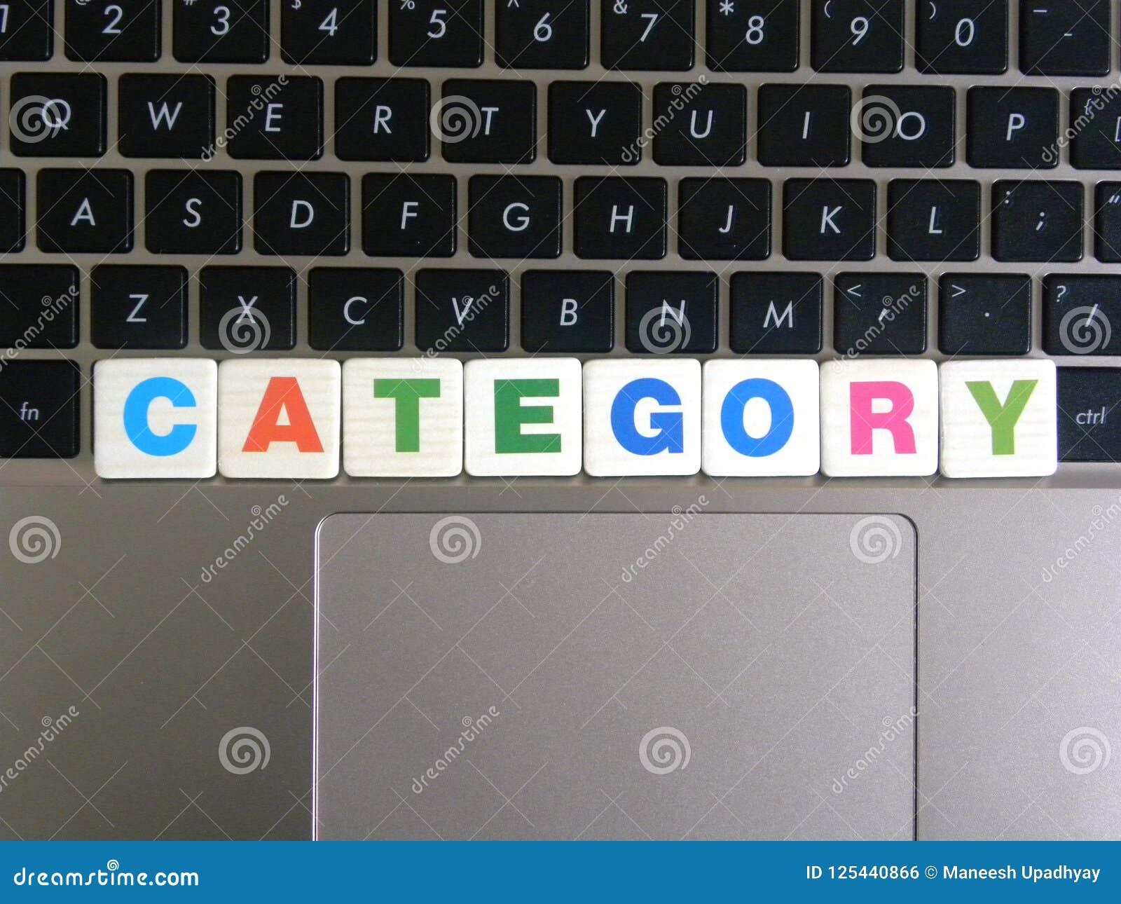 Категория слова на предпосылке клавиатуры
