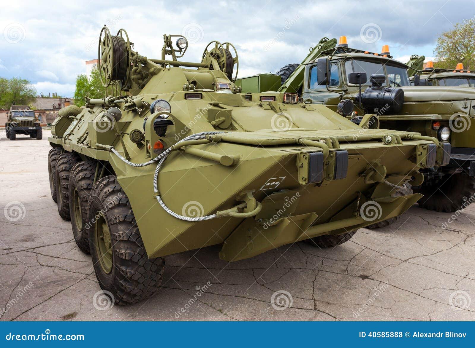 Катят armored корабль спасения основанный на BTR-80