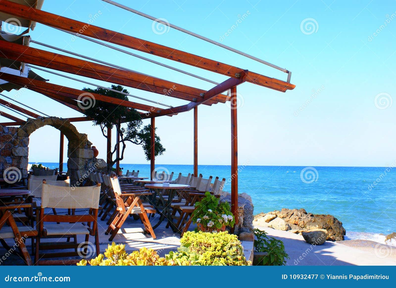кафетерий пляжа красивейший