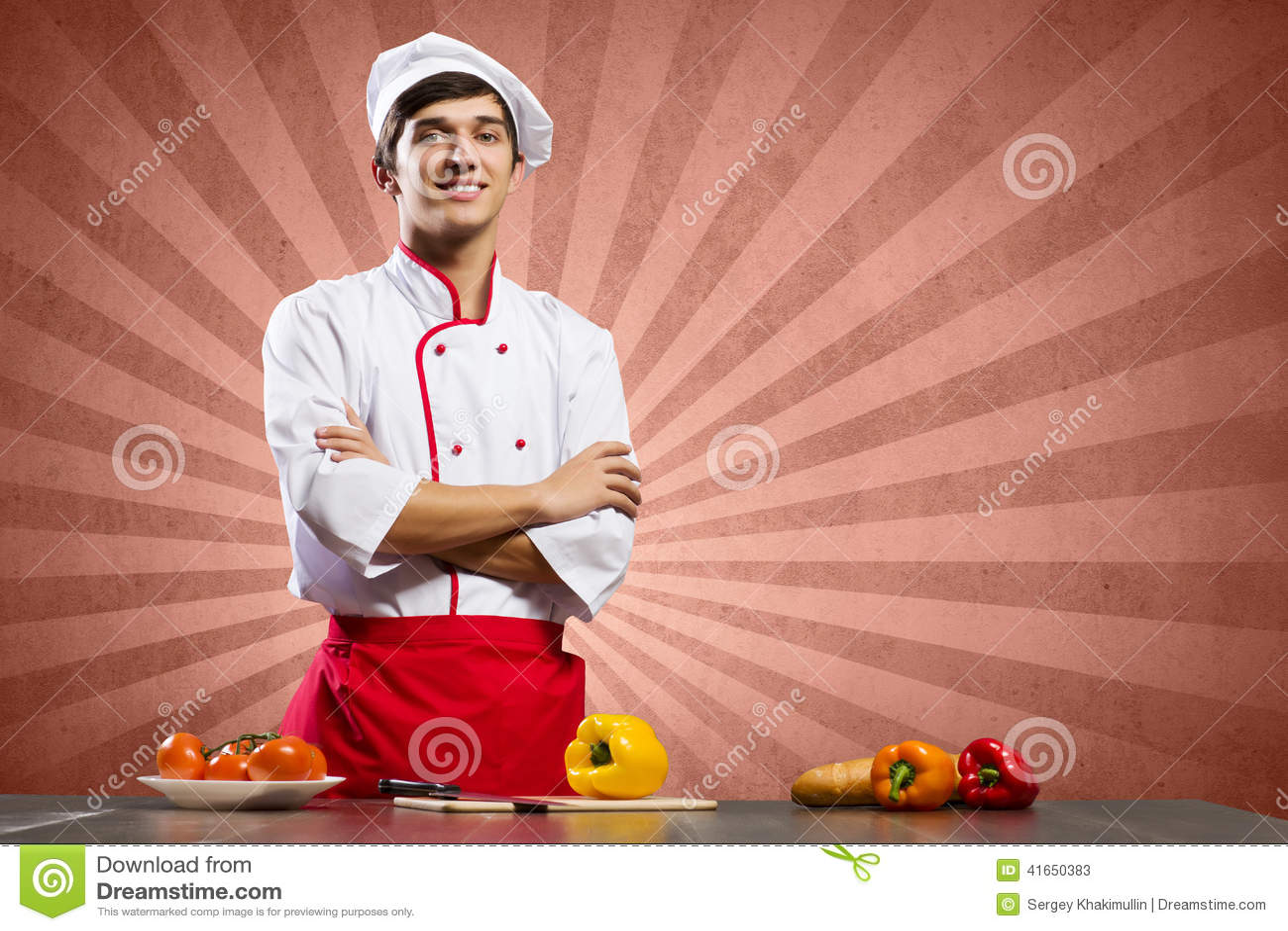 Кашевар на кухне