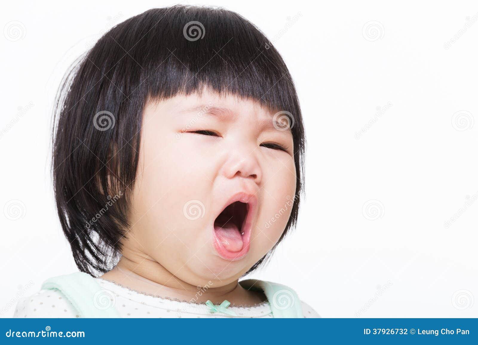 Кашель ребёнка Азии