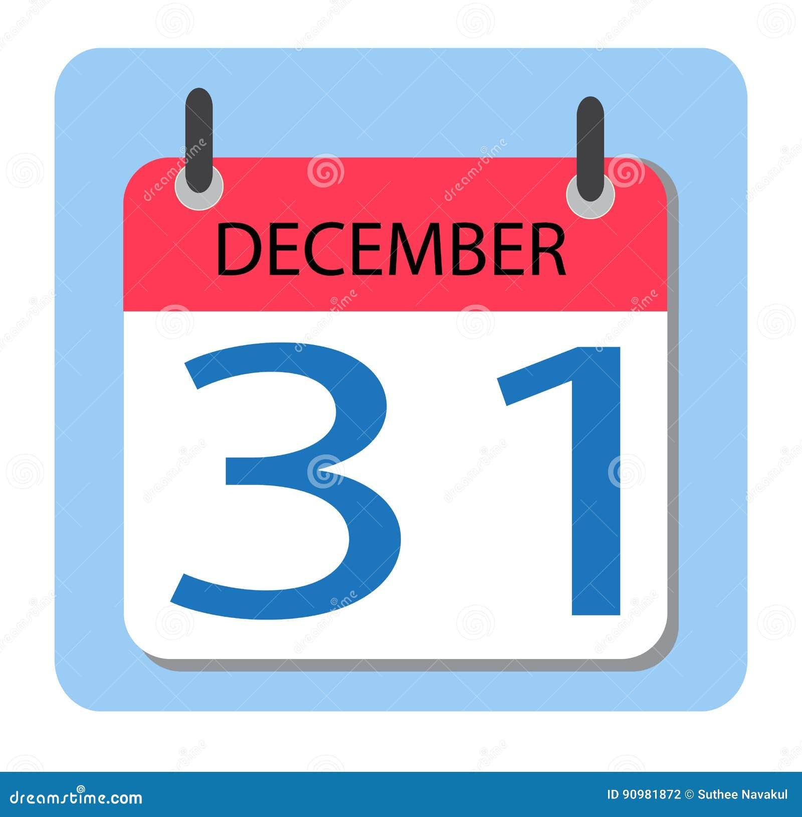 Календарь 31-ое декабря Новый Год