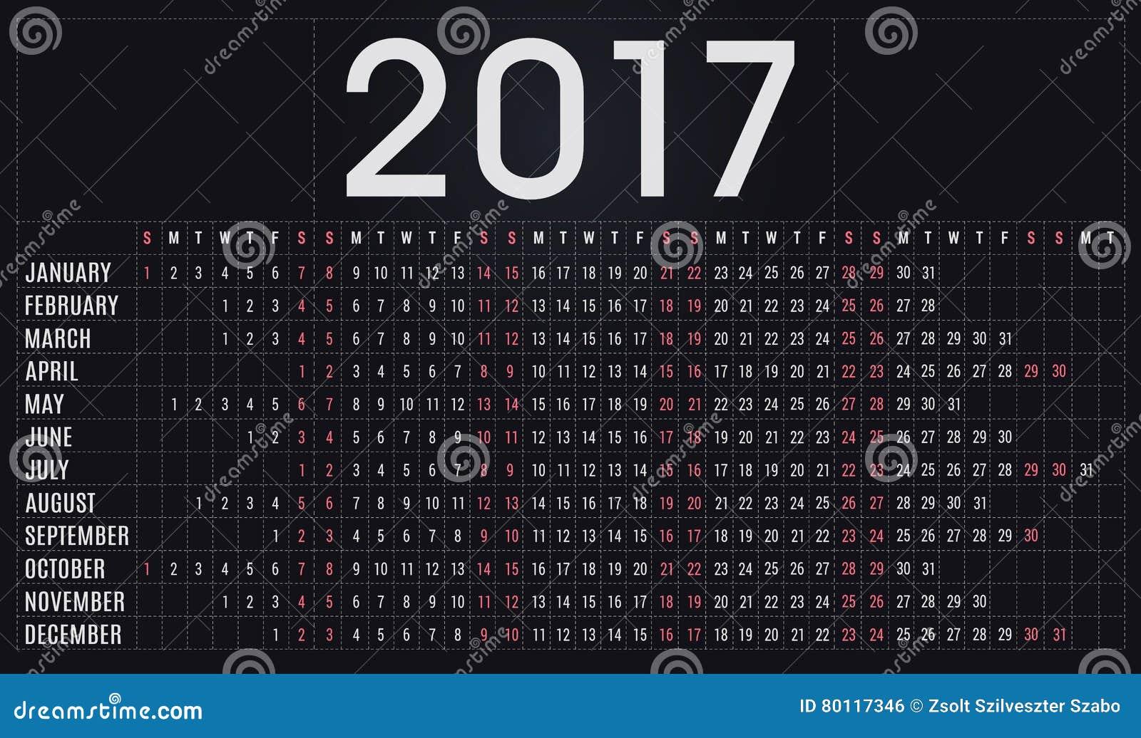 календарь 2017, плановик, план-график для компаний и частная польза