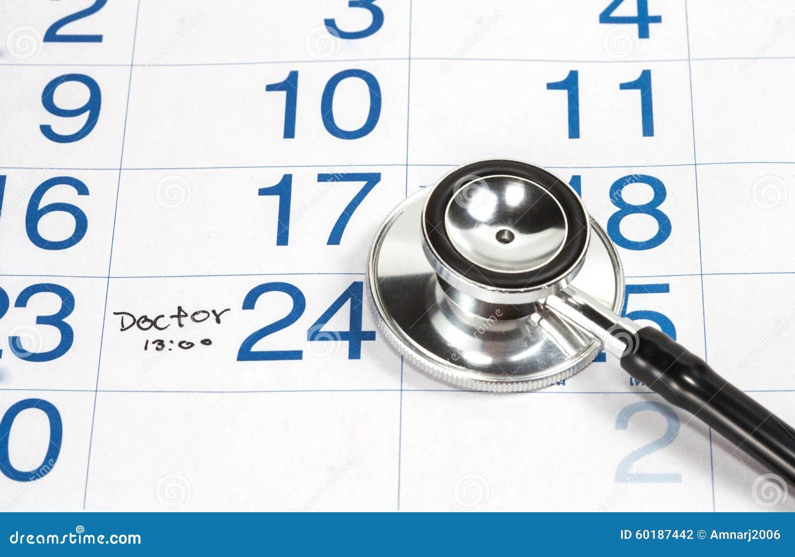 Календарь для доктора Назначения