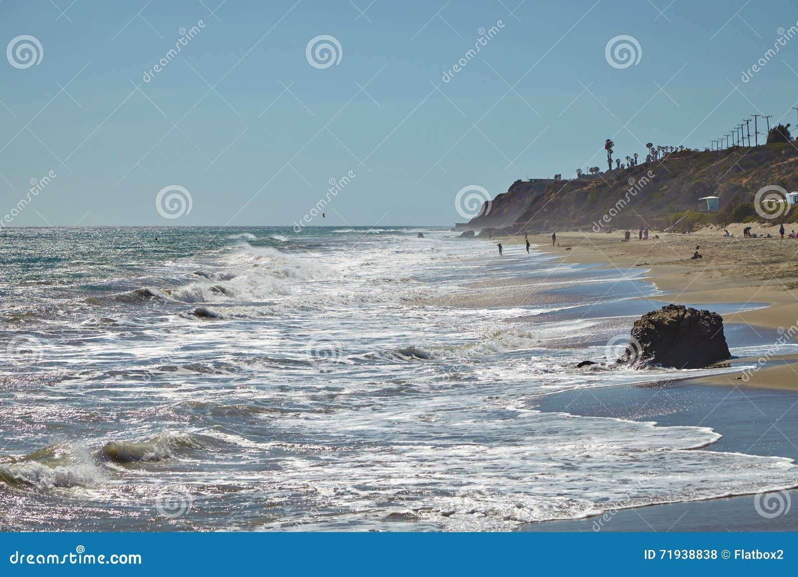 Калифорнийские прибрежные берега: Пляжи Malibu