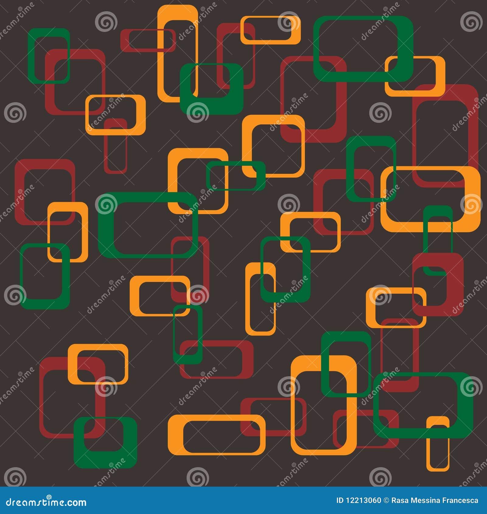 квадраты предпосылки ретро