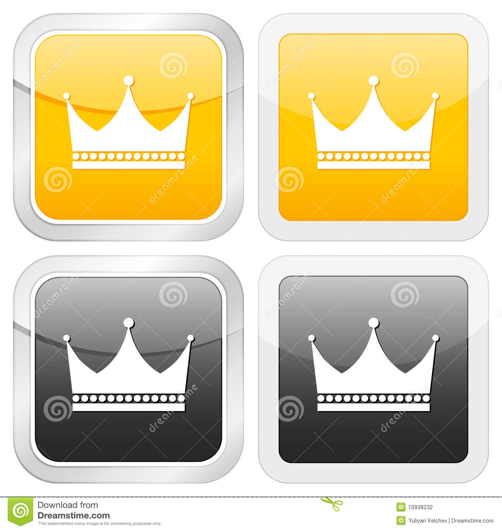 квадрат иконы кроны