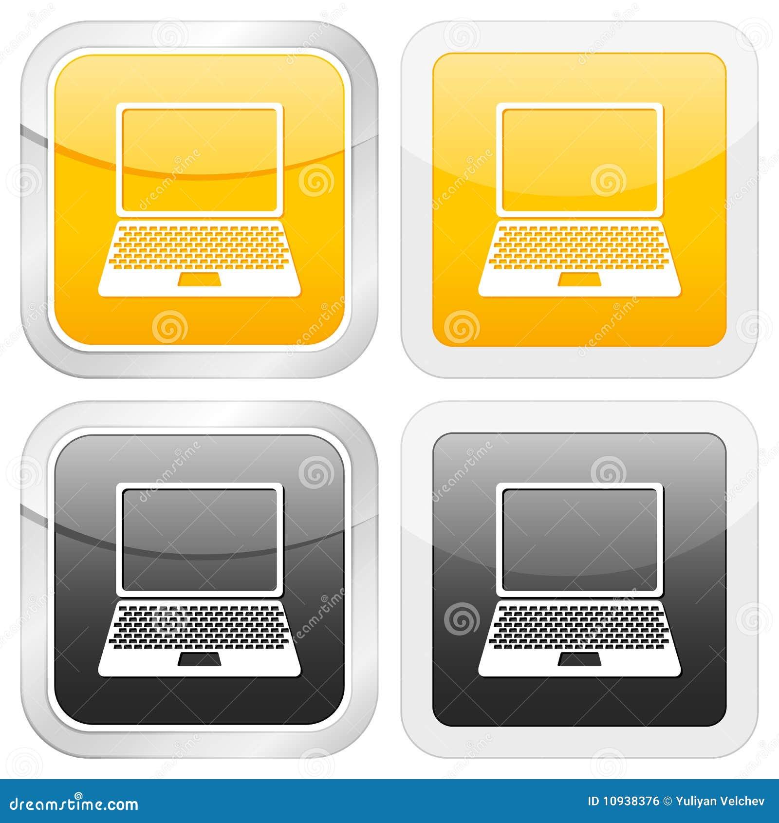 квадрат компьтер-книжки иконы