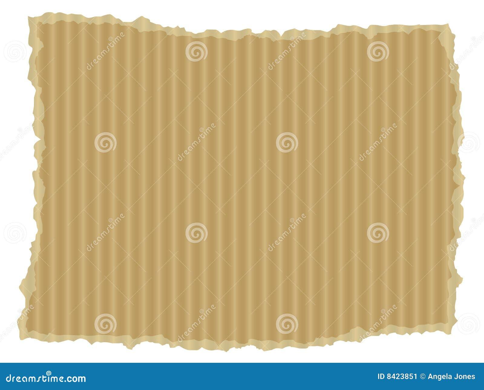 квадрат сорванный картоном