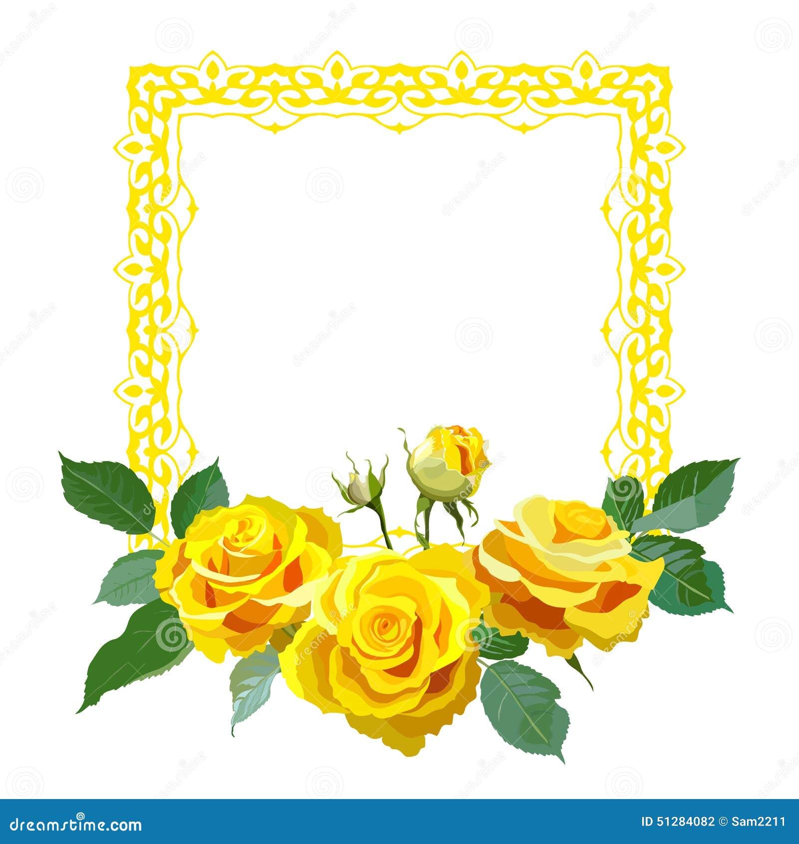 желтые рамки для открыток хрустящая, ореховая