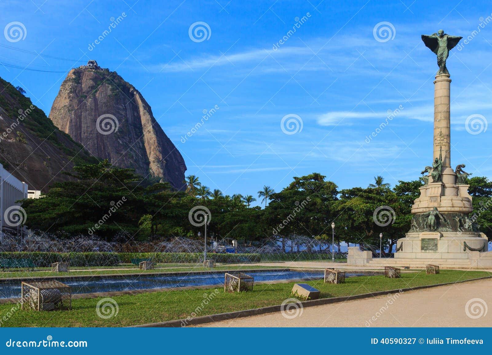 Квадрат генерала Tiburcio Sugarloaf, Рио-де-Жанейро