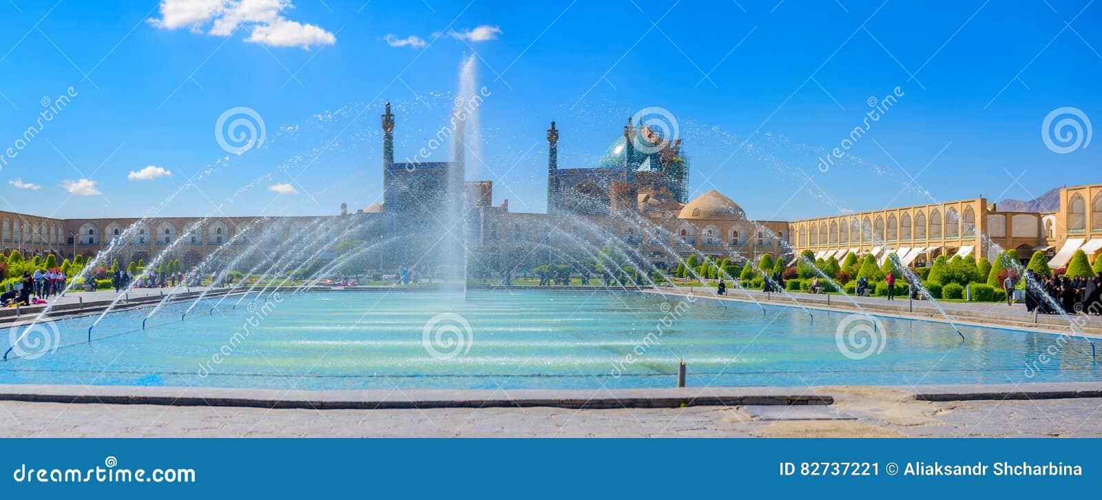 Квадрат имама в Isfahan