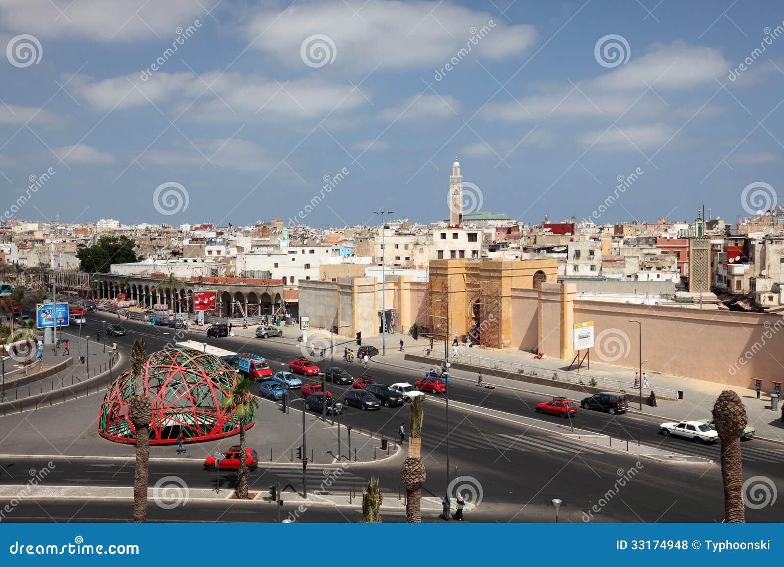 Квадрат ОбъединЕнной нации в Касабланке