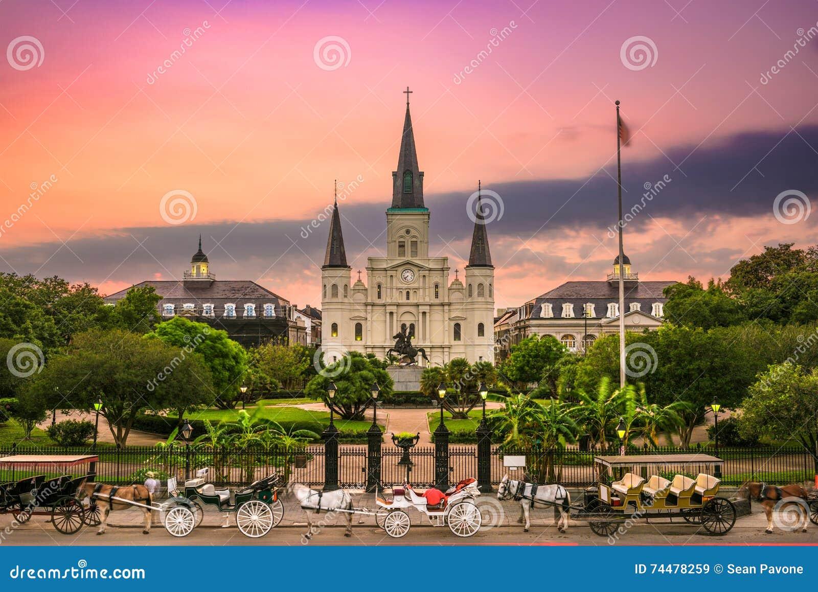 квадрат jackson New Orleans