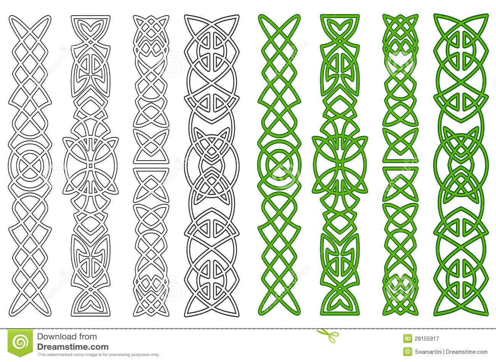 Кельтские узоры для