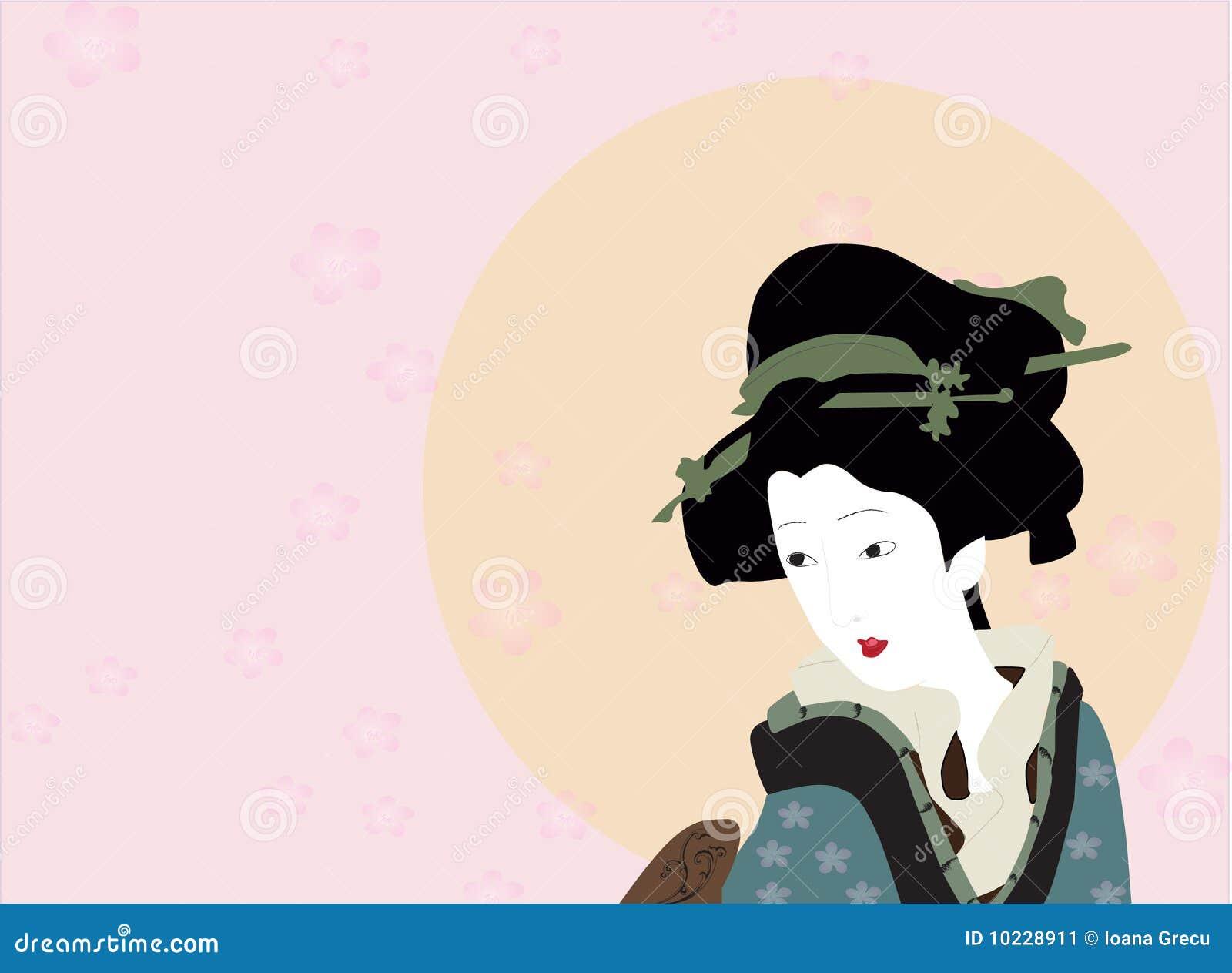 кимоно гейши