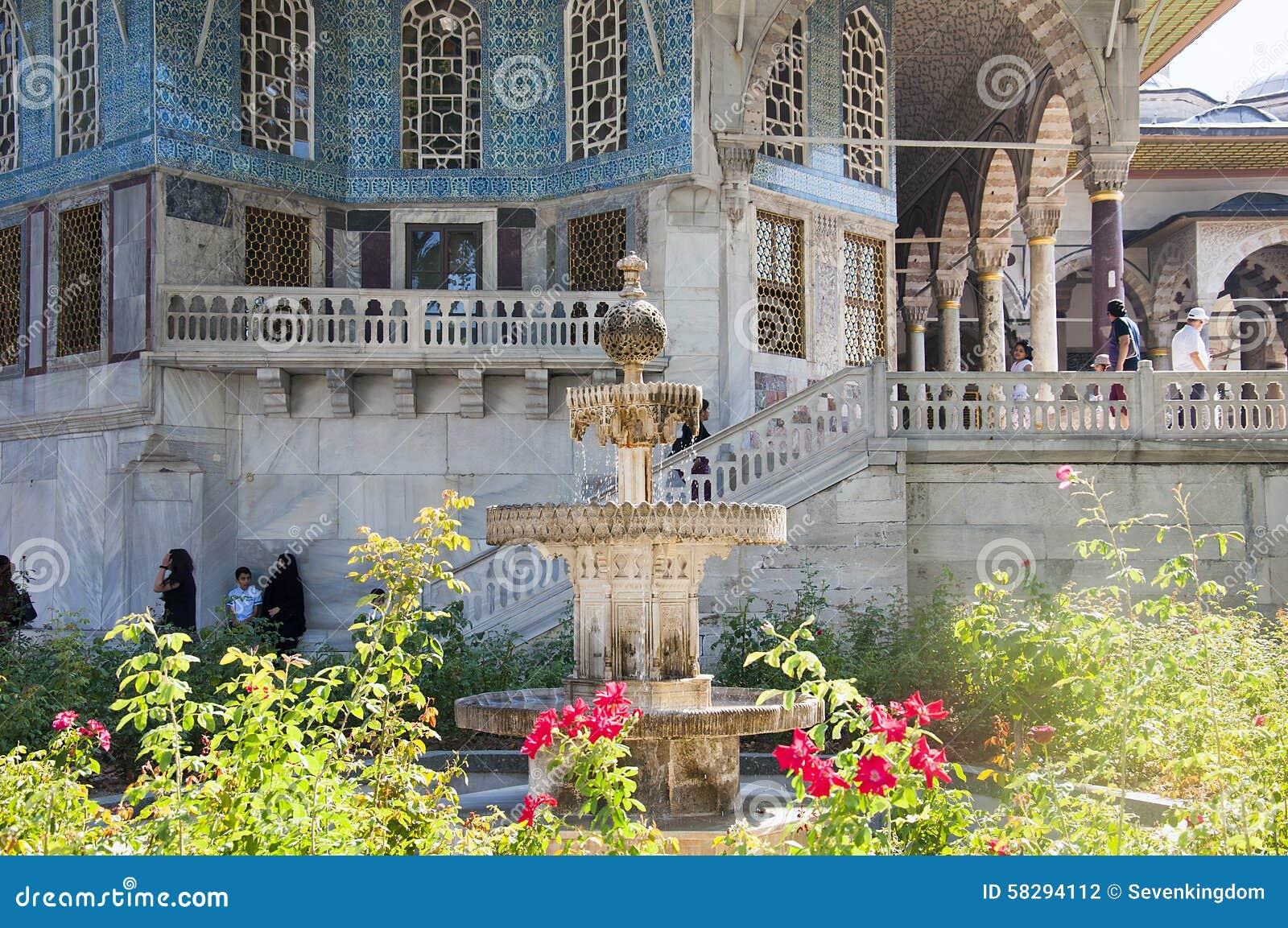 Киоск Багдада в дворце Topkapi, Стамбуле, Турции