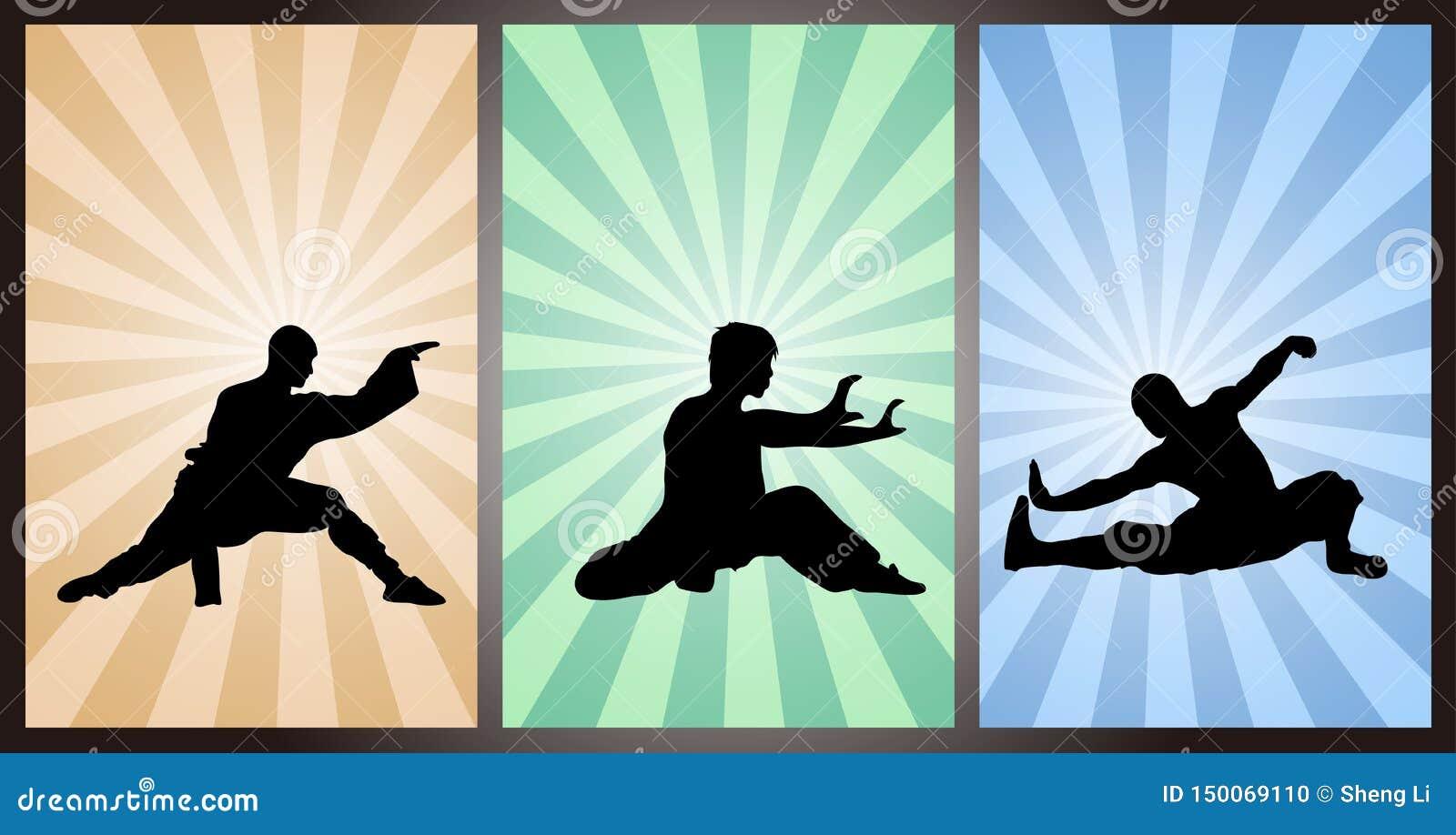 Китаец <b>Kung Fu</b>, <b>Wushu</b>, боевые искусства, китайский бокс ...
