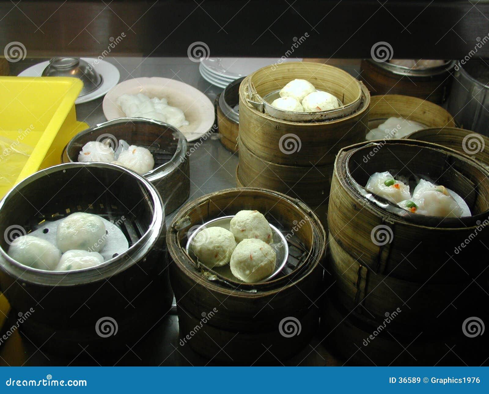 китайская тусклая сумма еды
