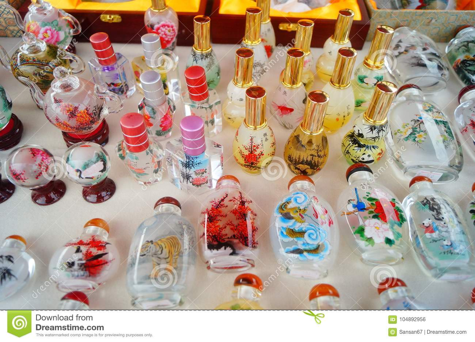 Китайские бутылки понюшки ремесел характеристики