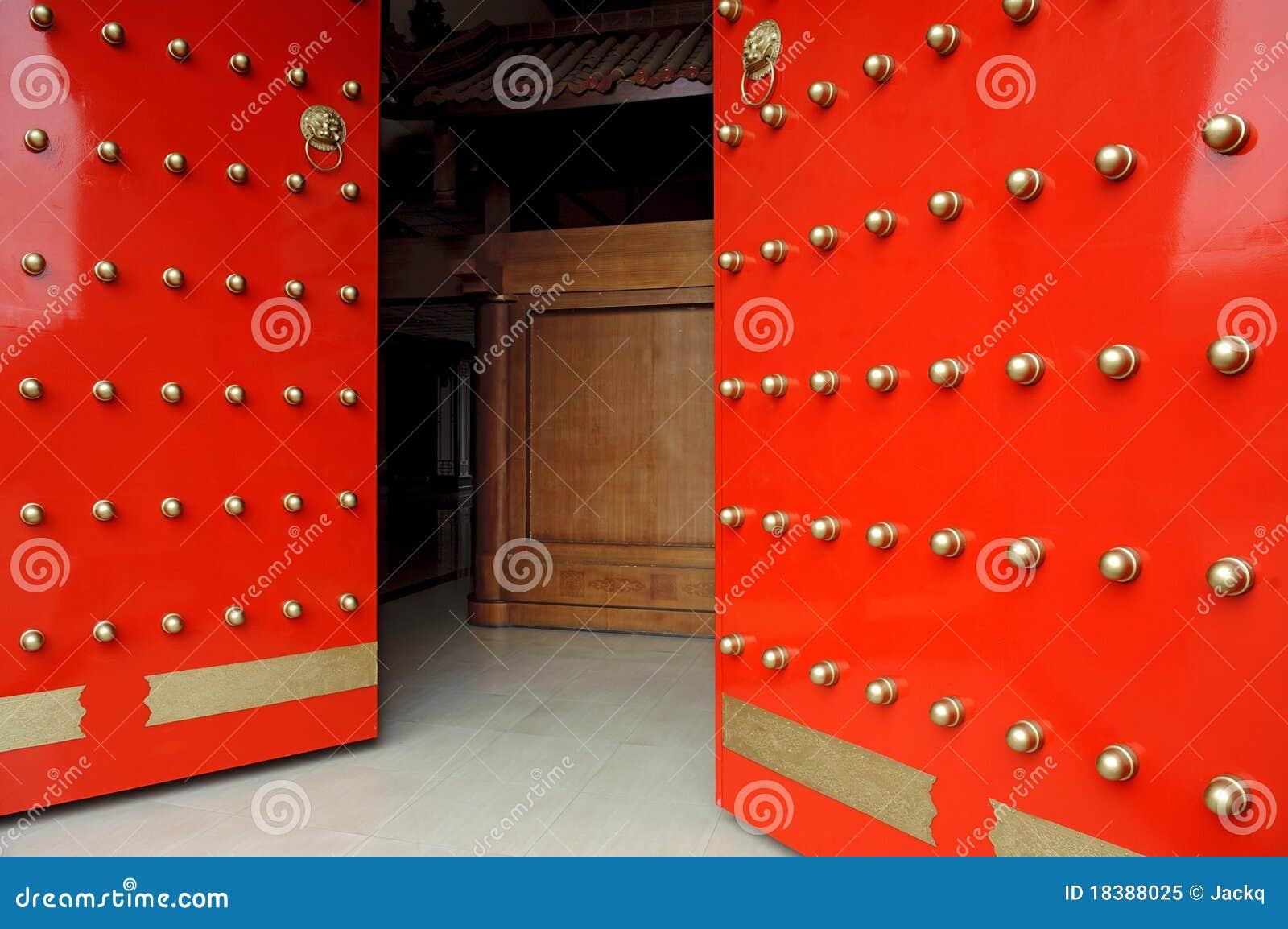 китайский красный цвет строба