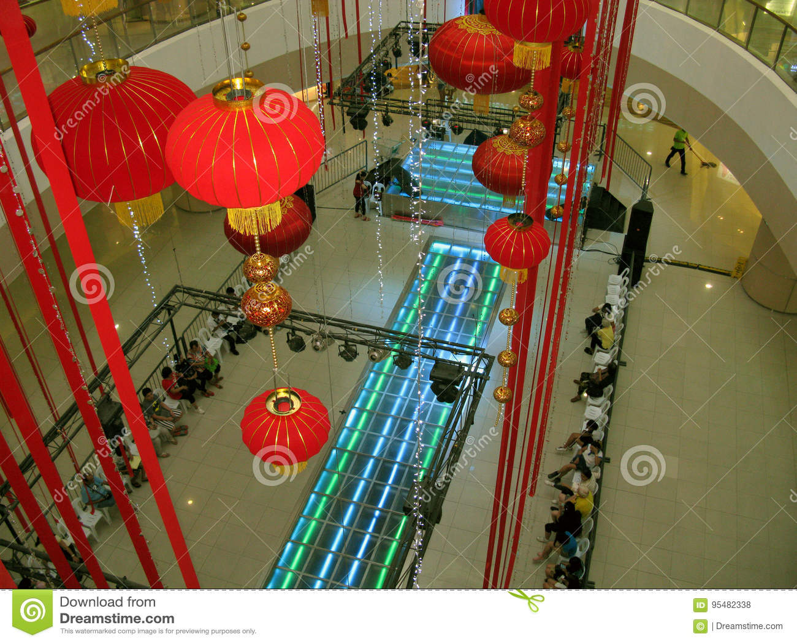 Китайский Новый Год на моле Fisher, город Quezon, Филиппины