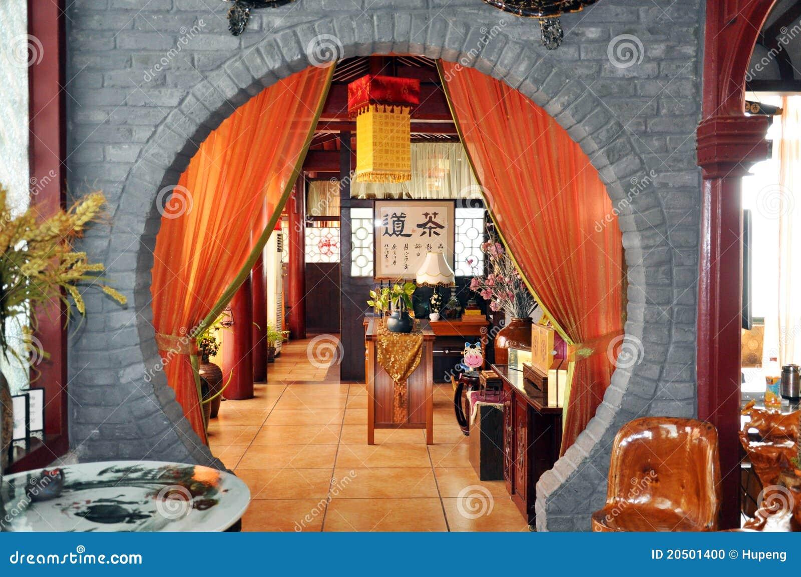 китайский нутряной чай ресторана