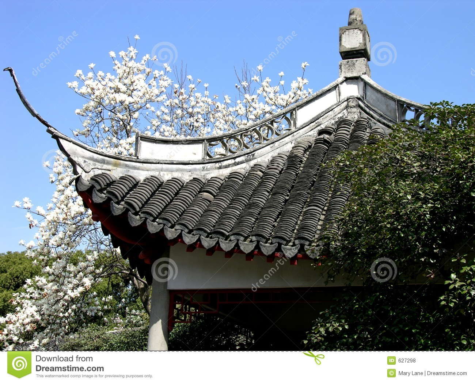 Download китайский павильон стоковое фото. изображение насчитывающей ashurbanipal - 627298