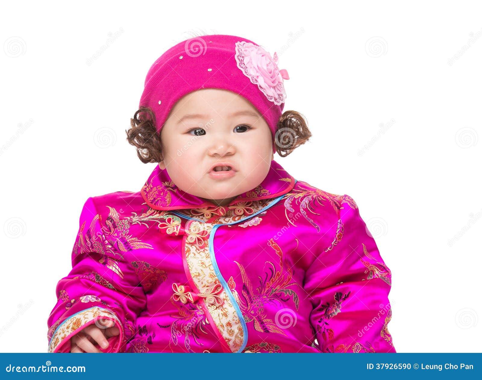 Китайский портрет младенца