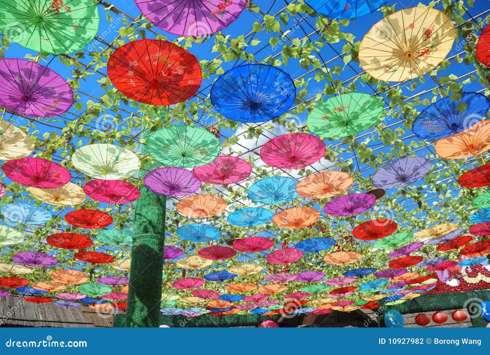 китайский handmade зонтик oilpaper